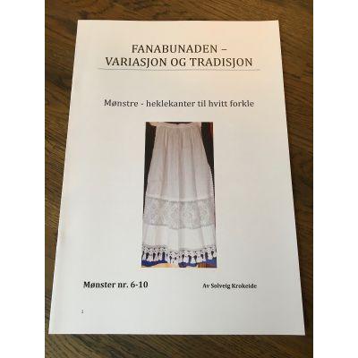 Hefte Hekleborder Fanabunad 6-10