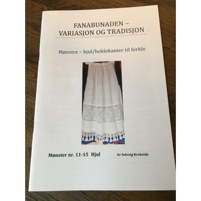 Hefte Hekleborder Fanabunad 11-15
