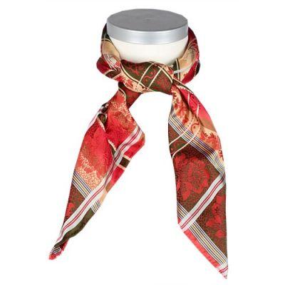 Eufemia Silkesjal 100% silke rød