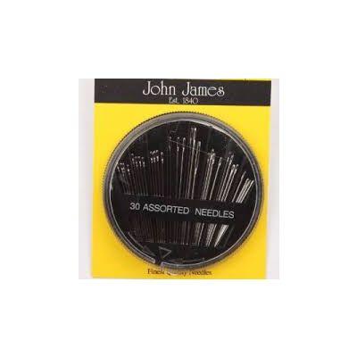 J. James 30 stk Assorterte Synåler