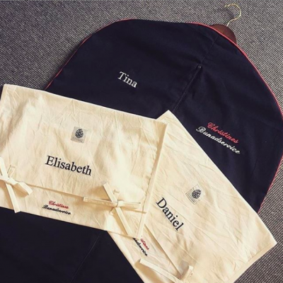 Draktpose med ekstra vidde - med navn